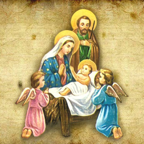 Jesus and Christmas – In manjer christian wallpaper free download. Use on PC, Mac, Android, iPhone or any device you like.