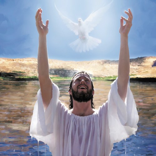 Jesus Baptism christian wallpaper free download. Use on PC, Mac, Android, iPhone or any device you like.