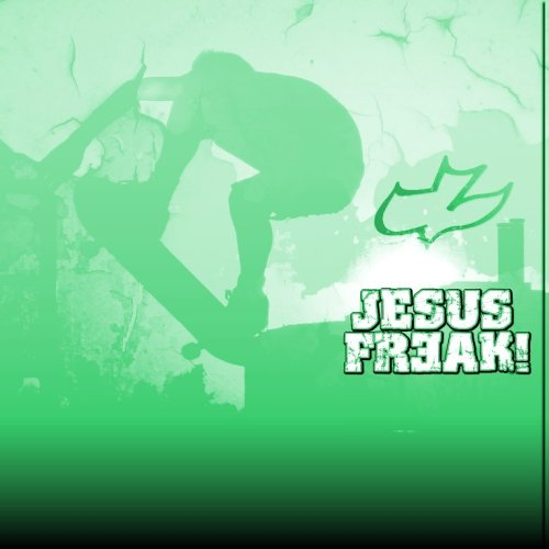 Jesus Freak green christian wallpaper free download. Use on PC, Mac, Android, iPhone or any device you like.