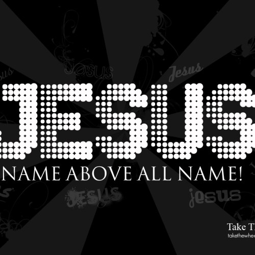 Jesus name christian wallpaper free download. Use on PC, Mac, Android, iPhone or any device you like.