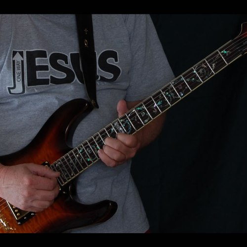 Jesus one way – guitar christian wallpaper free download. Use on PC, Mac, Android, iPhone or any device you like.