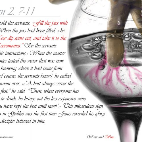 John 2:7-11 christian wallpaper free download. Use on PC, Mac, Android, iPhone or any device you like.