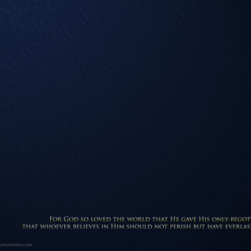 John 3:16 – Blue christian wallpaper free download. Use on PC, Mac, Android, iPhone or any device you like.