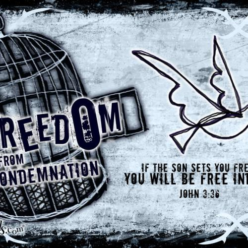 John 3:36 christian wallpaper free download. Use on PC, Mac, Android, iPhone or any device you like.