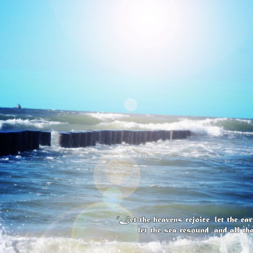 Let the sea resound christian wallpaper free download. Use on PC, Mac, Android, iPhone or any device you like.