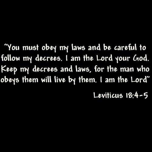Leviticus 18: 4-5 christian wallpaper free download. Use on PC, Mac, Android, iPhone or any device you like.