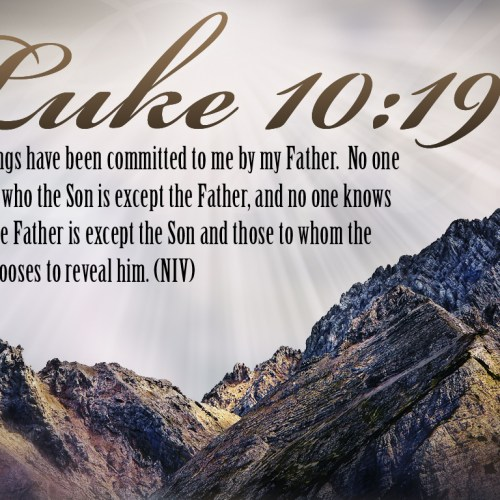 Luke 10:19 christian wallpaper free download. Use on PC, Mac, Android, iPhone or any device you like.