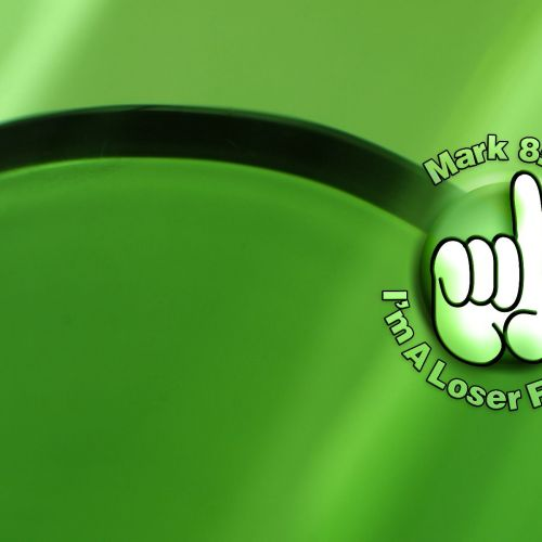 Mark 8:35 – Green Swoosh christian wallpaper free download. Use on PC, Mac, Android, iPhone or any device you like.