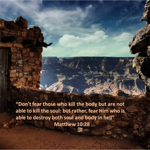 Matthew 10:28 christian wallpaper free download. Use on PC, Mac, Android, iPhone or any device you like.