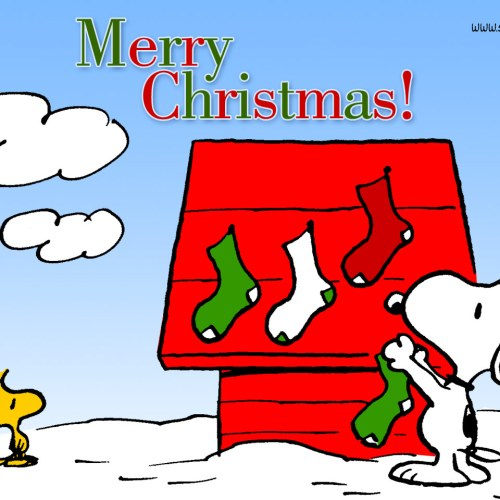 Merry Christmas from Snoopy christian wallpaper free download. Use on PC, Mac, Android, iPhone or any device you like.