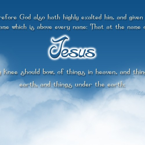 Name of Jesus christian wallpaper free download. Use on PC, Mac, Android, iPhone or any device you like.