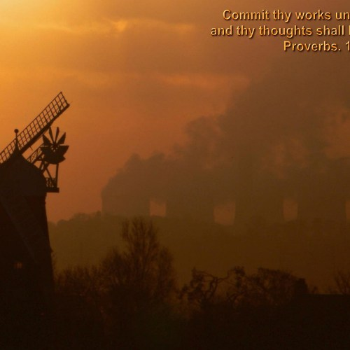 Proverbs 16:3 christian wallpaper free download. Use on PC, Mac, Android, iPhone or any device you like.