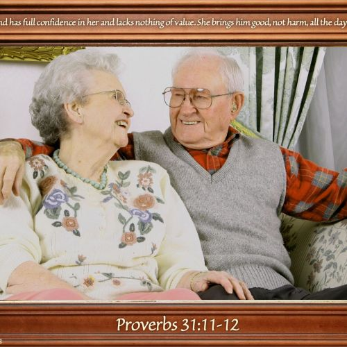 Proverbs 31:11-12 christian wallpaper free download. Use on PC, Mac, Android, iPhone or any device you like.