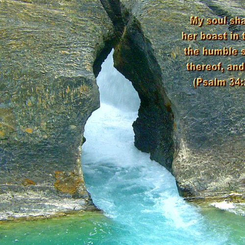 Psalm 34:2 christian wallpaper free download. Use on PC, Mac, Android, iPhone or any device you like.
