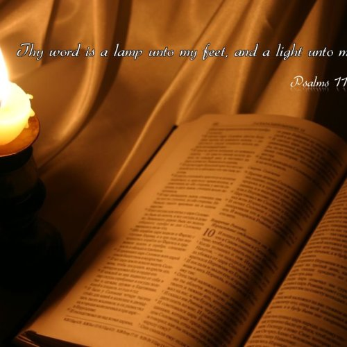 Psalms 119:105 christian wallpaper free download. Use on PC, Mac, Android, iPhone or any device you like.
