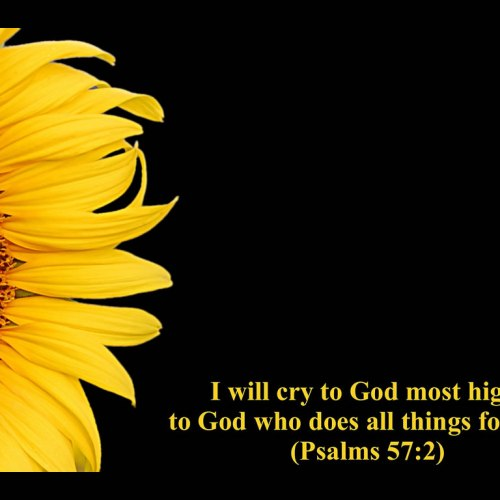 Psalms 57:2 christian wallpaper free download. Use on PC, Mac, Android, iPhone or any device you like.