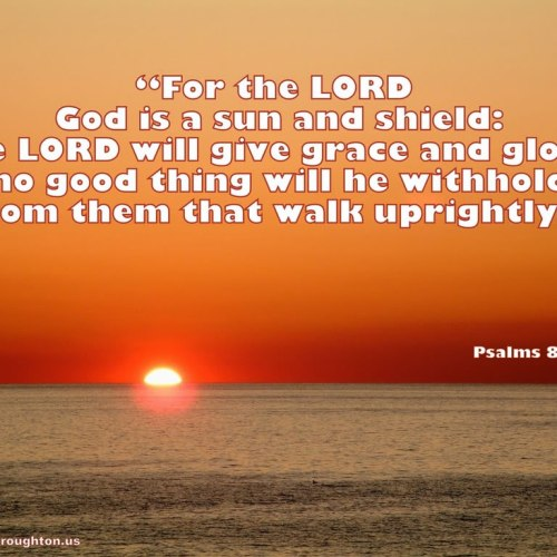 Psalms 84:11 christian wallpaper free download. Use on PC, Mac, Android, iPhone or any device you like.