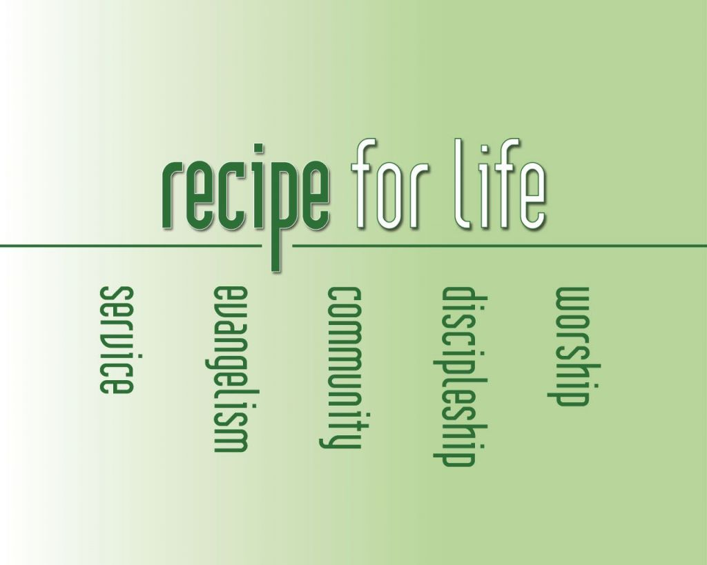 Christian wallpaper Recipe for Life