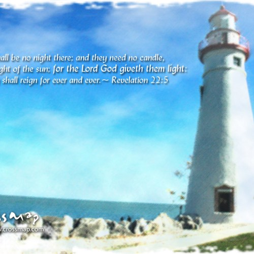 Revelation 22:5 christian wallpaper free download. Use on PC, Mac, Android, iPhone or any device you like.
