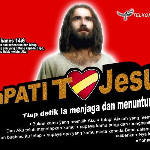 SIMPATI JESUS christian wallpaper free download. Use on PC, Mac, Android, iPhone or any device you like.