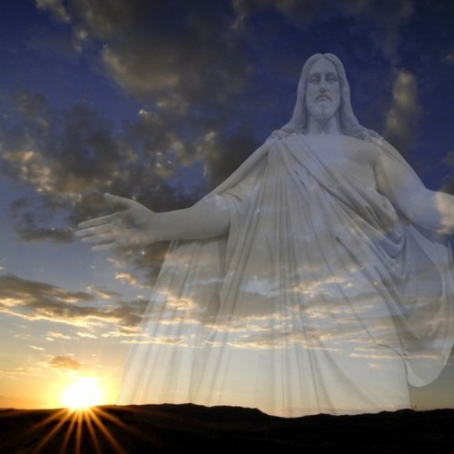 Sunset Jesus christian wallpaper free download. Use on PC, Mac, Android, iPhone or any device you like.