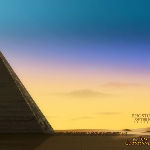 Ten Commandments – Egypt christian wallpaper free download. Use on PC, Mac, Android, iPhone or any device you like.