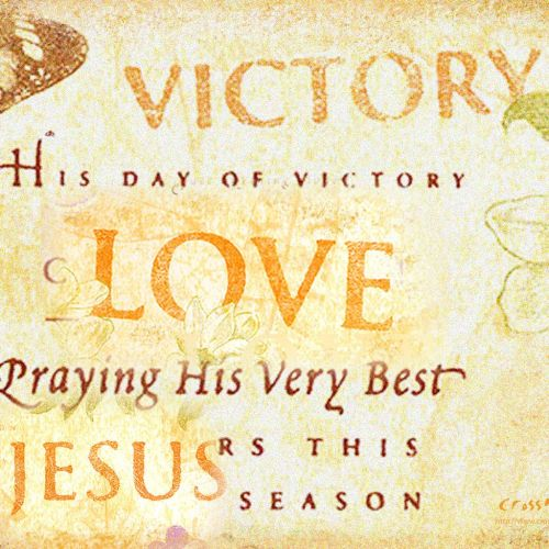 The Victory of Love christian wallpaper free download. Use on PC, Mac, Android, iPhone or any device you like.