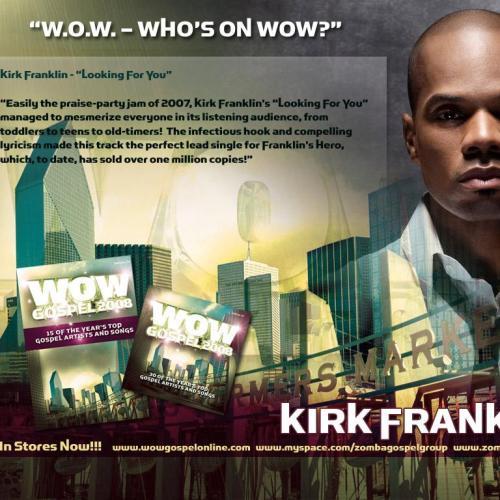 Wow – Kirk Franklin christian wallpaper free download. Use on PC, Mac, Android, iPhone or any device you like.