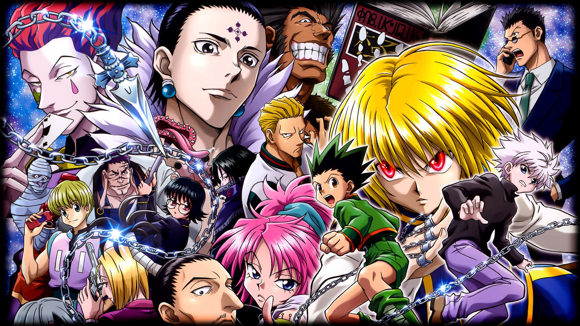 Start your search now and free your phone. Hunter X Hunter Wallpapers - Top Free Hunter X Hunter ...