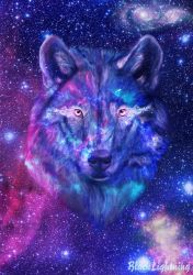 Cool Galaxy Wolf Wallpapers Top Free Cool Galaxy Wolf Backgrounds WallpaperAccess