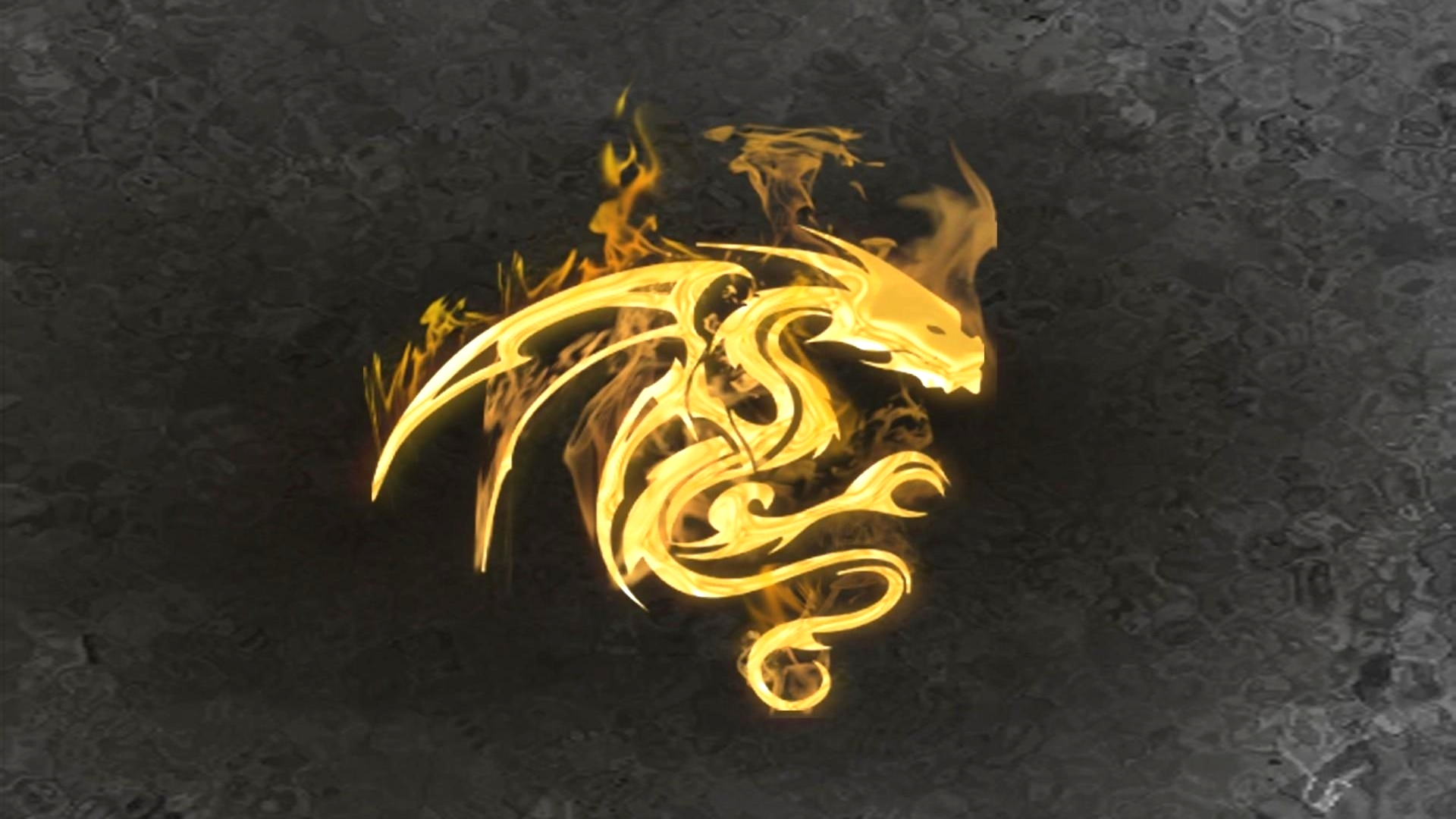 Black And Gold Dragon Wallpaper