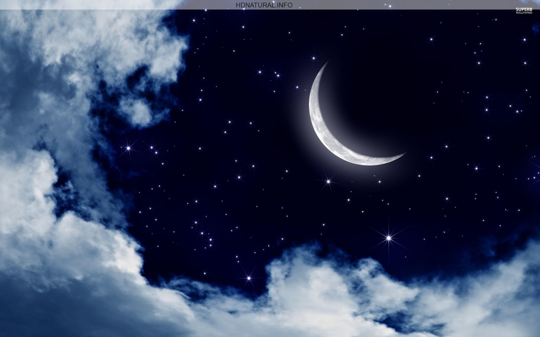 Stars And Moons Desktop Wallpapers