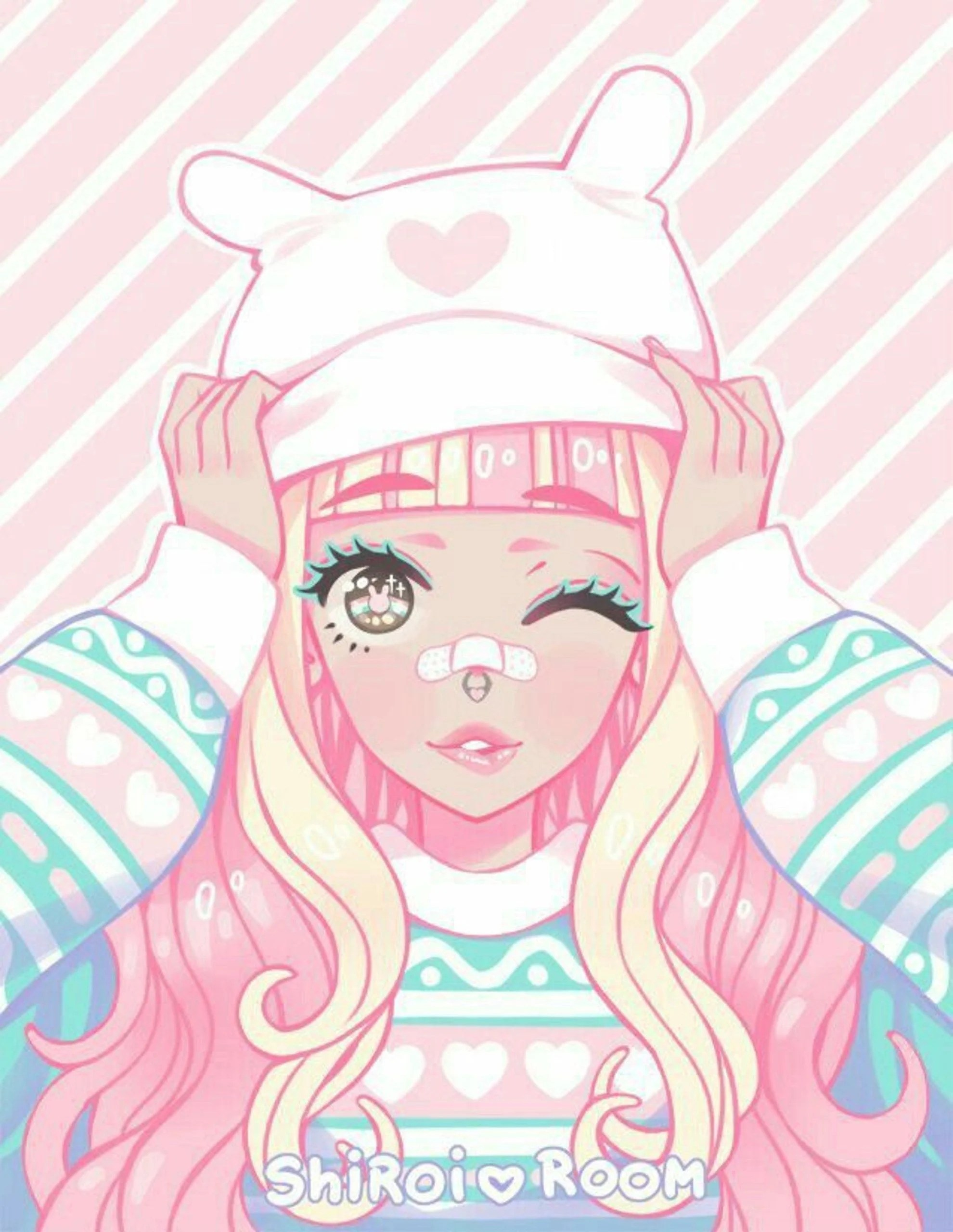 Anime Kawaii Aesthetic : anime, kawaii, aesthetic, Kawaii, Pastel, Aesthetic, Wallpapers, Backgrounds, WallpaperAccess
