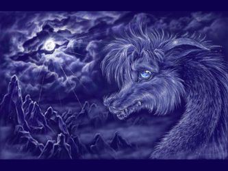 Dragon Moon Wallpapers Top Free Dragon Moon Backgrounds WallpaperAccess