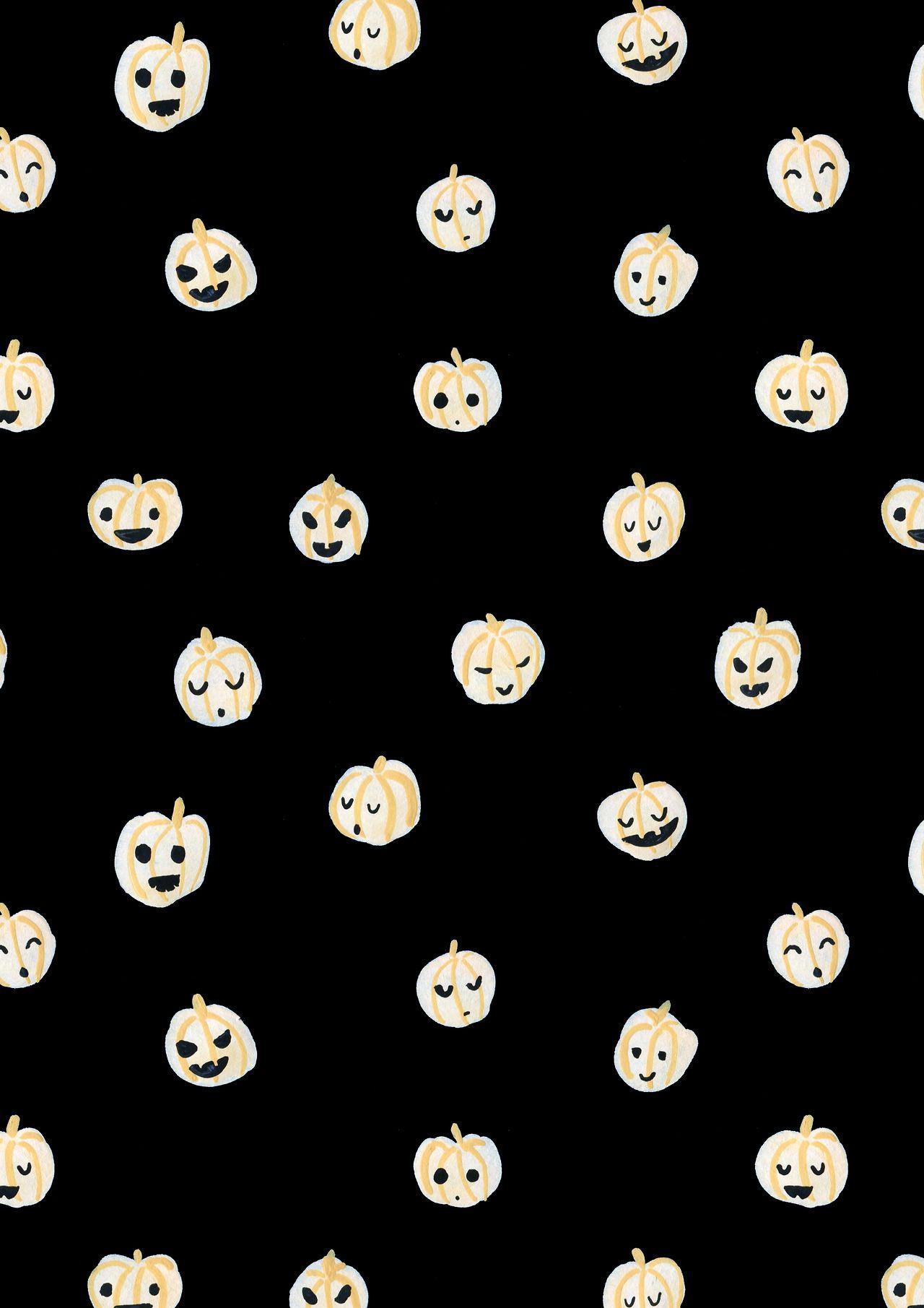 Cute Halloween Computer Wallpaper : halloween, computer, wallpaper, Halloween, Pattern, Wallpapers, Backgrounds, WallpaperAccess
