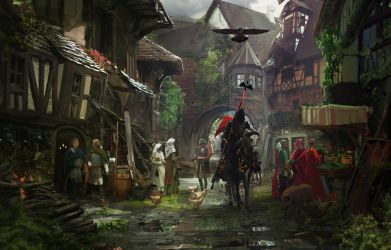 Medieval Town Wallpapers Top Free Medieval Town Backgrounds WallpaperAccess