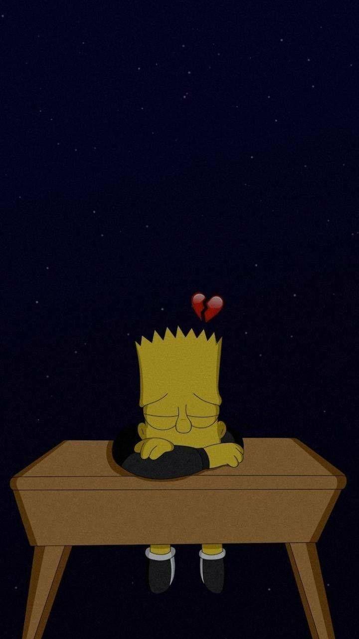 Bart Sad Wallpaper : wallpaper, Wallpaper, Simpson