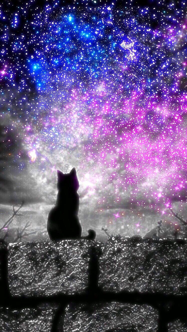 Galaxy Cat Background : galaxy, background, Hipster, Galaxy, Wallpapers, Backgrounds, WallpaperAccess
