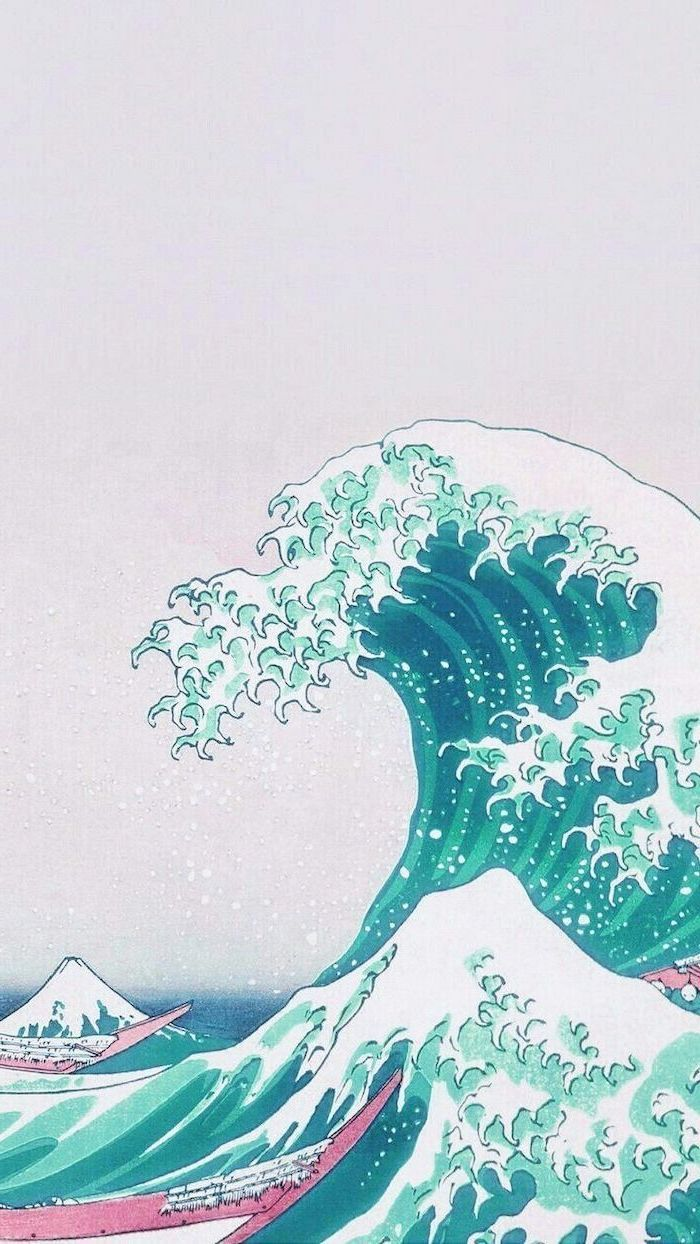 Aesthetic Wave Wallpaper : aesthetic, wallpaper, Aesthetic, Wallpapers, Backgrounds, WallpaperAccess