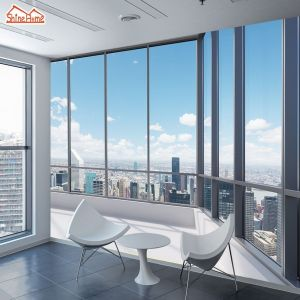 office window building paper wallpapers shinehome mural roll living desktop backgrounds windows aliexpress walls wallpaperaccess manly grey rooms