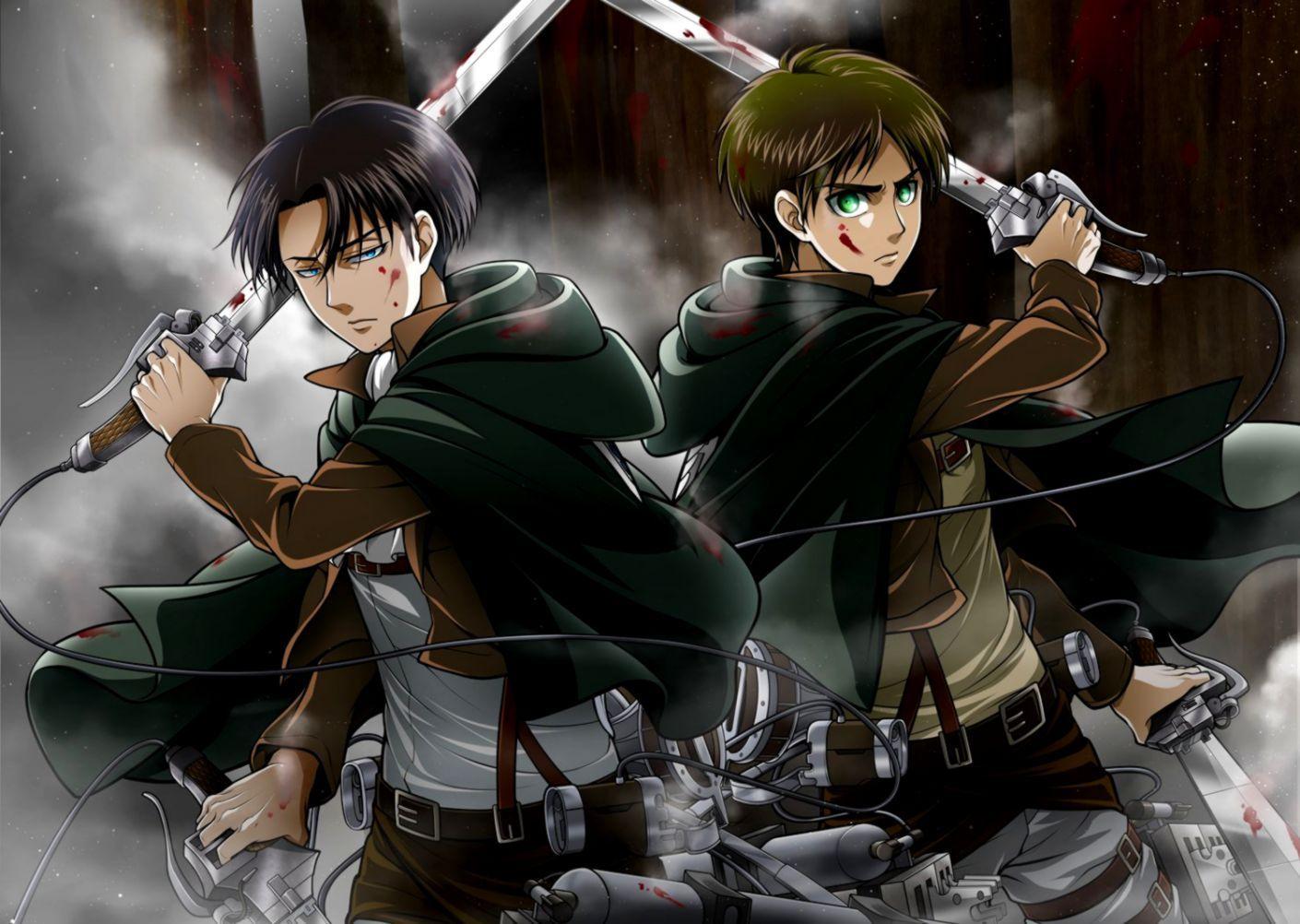 Mikasa levi colossal titan attack on titan shingeki no kyojin 4k wallpaper. Eren and Levi Wallpapers - Top Free Eren and Levi ...