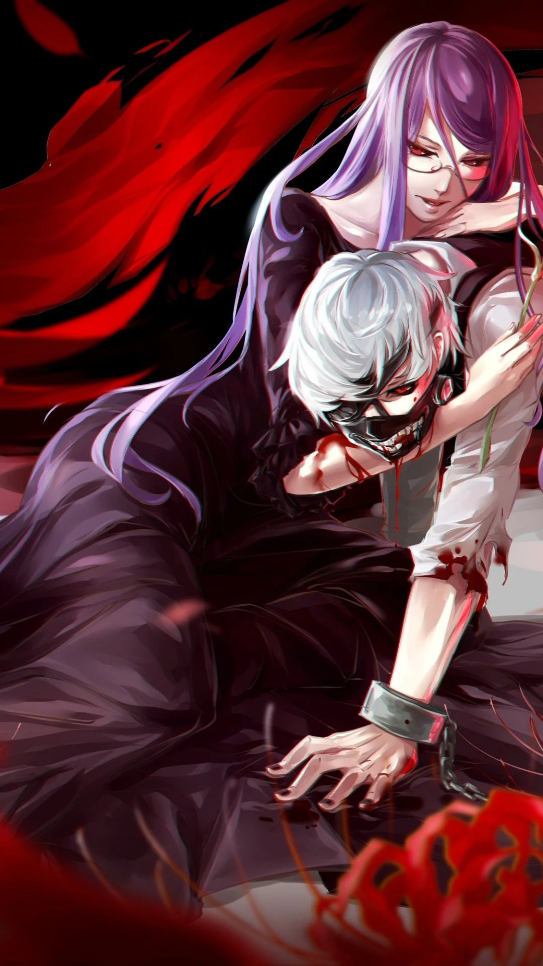 The links below are my anime edits, the masterlist link above will guide you to my manga edits! Kaneki Tokyo Ghoul iPhone Wallpapers - Top Free Kaneki ...
