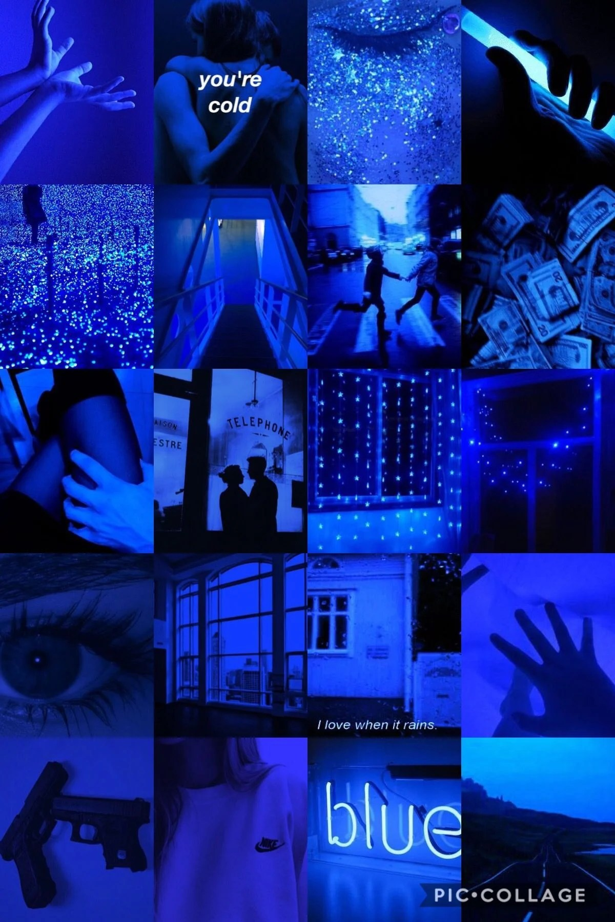 Midnight Blue Dark Blue Aesthetic : midnight, aesthetic, Aesthetic, Tumblr, Wallpapers, Backgrounds, WallpaperAccess