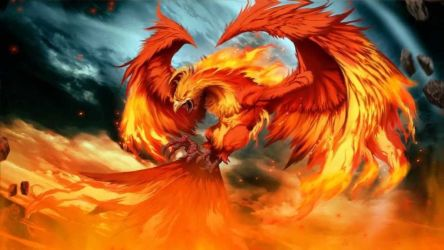 Fire Phoenix Wallpapers Top Free Fire Phoenix Backgrounds WallpaperAccess