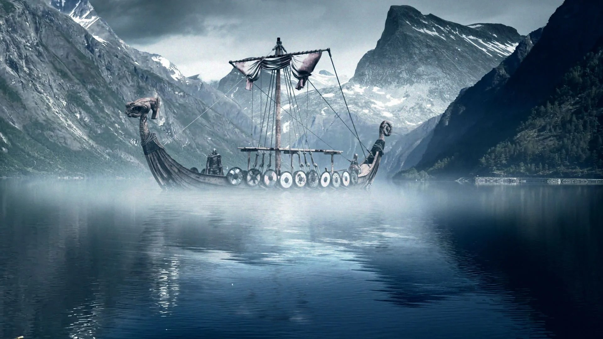 Viking Ship Wallpapers