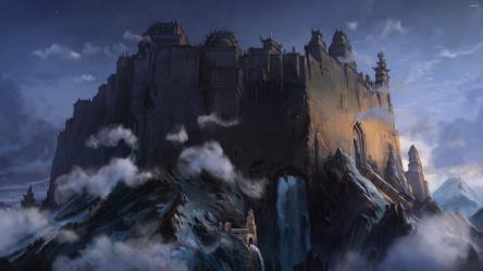 medieval 4k castle medievil wallpapers digital backgrounds