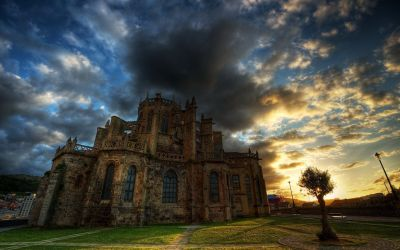 castle castles wallpapers haunted medieval hd scary pc desktop backgrounds english loket hdr wallpaperaccess 1920 1200 2570 allwallpaper stmed