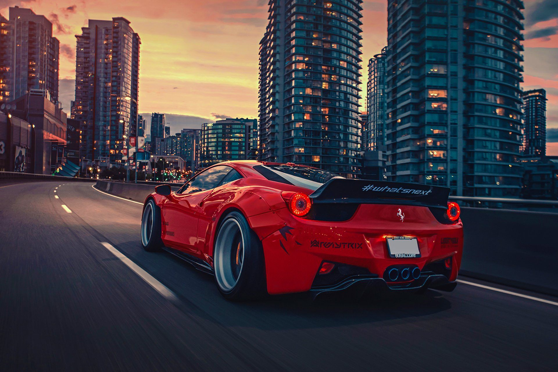 red car wallpapers top