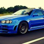 Blue Nissan Skyline R34 Wallpapers Top Free Blue Nissan Skyline R34 Backgrounds Wallpaperaccess