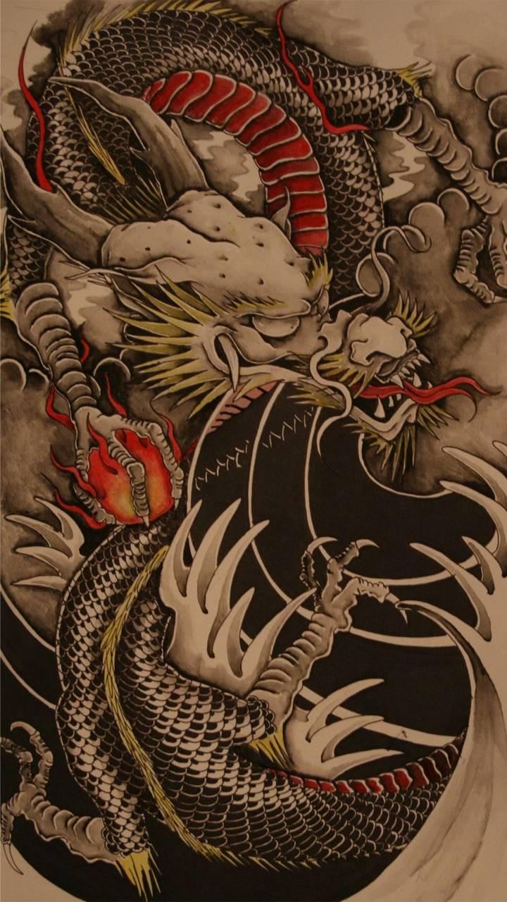 '#iphone wallpaper fire dragon' tag on WallpaperCasa: 24 wallpapers